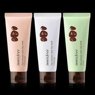 Innisfree volcanic color clay mask 70mls