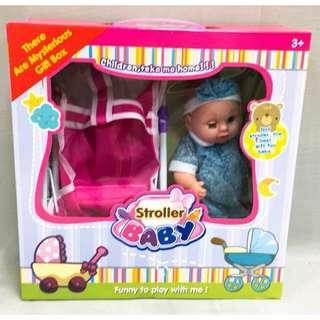 推車+洋娃娃