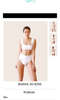 EIGTHMERMAID SWIMWEAR WHITW