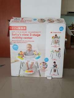 Skip hop 3-stage activity center