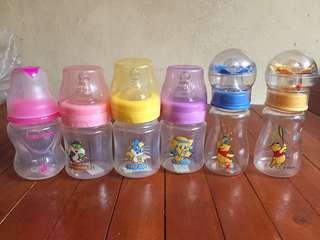 Anti colic bottles/ disney bottles