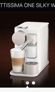 Nespresso Lattissima One Coffee Machine(all Color) brand new in box