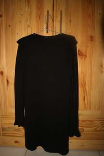 Bershka black dress