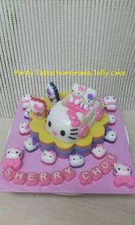 Homemade Jelly Cake