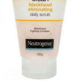 Neutrogena Blackhead Elminating Daily Scrub