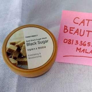 Tony Moly Gold Black Sugar Mask Exfoliating & Moisturizing 100 ml