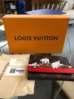LV Louis Vuitton Victorine wallet - Christmas limited edition M62090