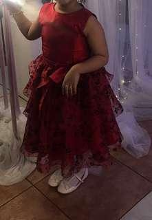 Red Dress for Little Girl