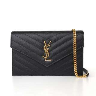 Authentic Saint Laurent Monogram Medium Clutch