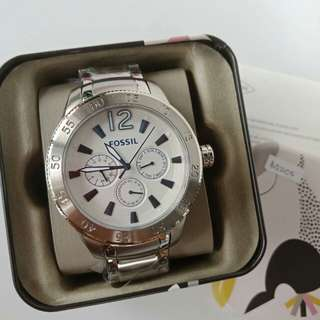 Fossil BQ2105 Stainless Steel 49mm