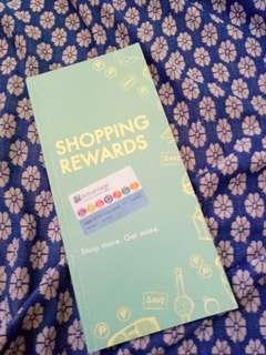 Shopping rewards vouchers