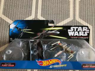 Star Wars Collection Hotwheels Starships