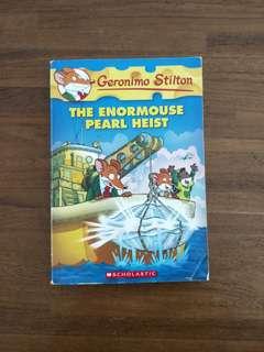 Geronimo Stilton : The Enormouse Pearl Heist