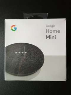 Google Home Mini (Charcoal) *New*