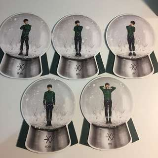 EXO miracles in december snowglobe