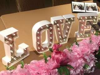 MARQEE - LOVE字燈飾