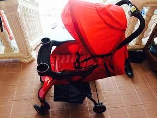 Sweet cherry baby stroller