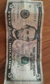 USD 5