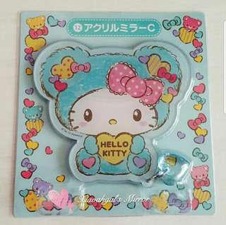 🔴FREE!!🔴FOLLOWERS ONLY! **Those always backout; followed but Unfollowed, pls detour. Thks**🔴🐰BRAND NEW IN PLASTIC (CLEAN)🐰SANRIO ORIGINAL LIMITED EDITION JAPAN Hello Kitty Die-cut Mirror with Crystal Charm!💋No Pet No Smoker Clean Hse💋