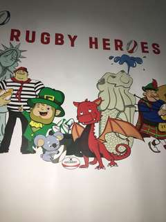 Rugby sevens poster