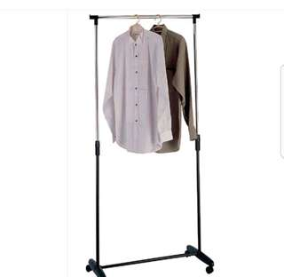 FREE POS AFGY Stainless Steel Garment Rack