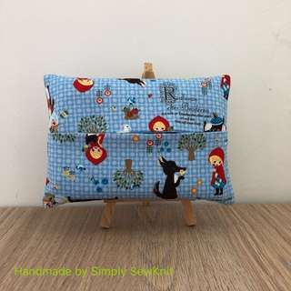 Red Riding Hood Travel Tissue Pouch