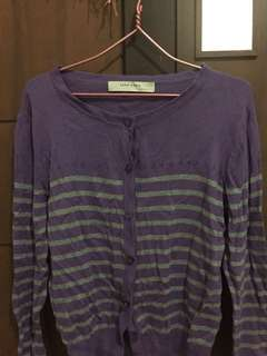 Zara Purple Cardigan