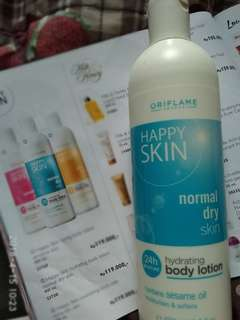 Happy skin hydrating body lotion normal dry skin