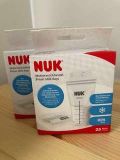 Nuk breast milk storage bag