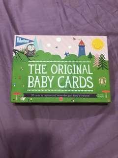 EEUC BABY MILESTONE CARD