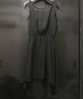 High Low open back Dress