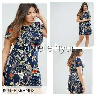 🐊Floral plus size dress