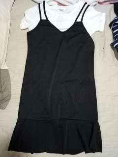 🚚 兩件式魚尾裙