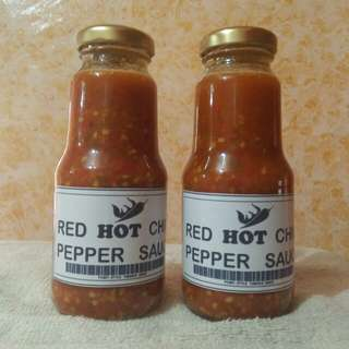 Red HOT Chili Pepper Sauce