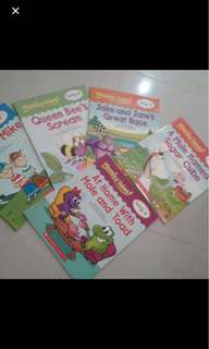 Scholastics phonics readers