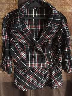 Long sleeve jacket style