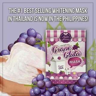 Grape Gluta Mask
