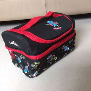 two Smiggle lunchboxes