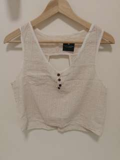 (Made in Italy) Brandy Melville White Top