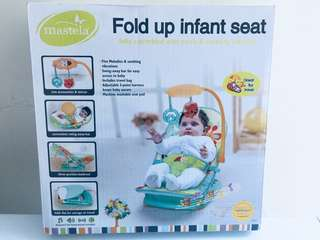 Fold up instant seat