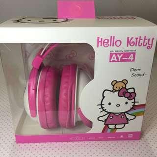 🚚 Hello kitty 耳罩耳機