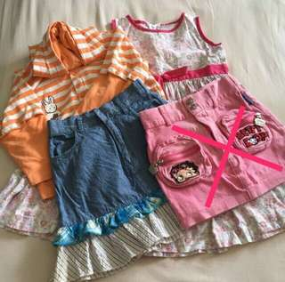 3-4Y Girl's Bundle 2