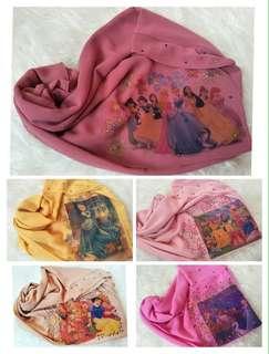 Instant shawl budak