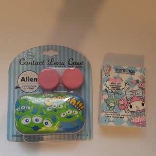 '三眼仔'隱形眼鏡盒Alien contact lens box