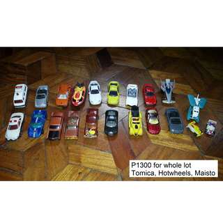Assorted Toy Cars For Sale by Bundle