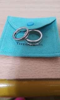 🚚 TIFFANY1837寬(細)版戒指
