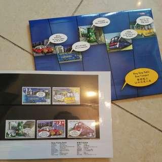 香港 郵票 套摺 6