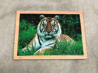 Tiger Wooden Puzzle