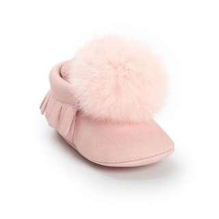 Wool Ball Baby Toddler Infant Tassel Stylish Antiskid Prewalker