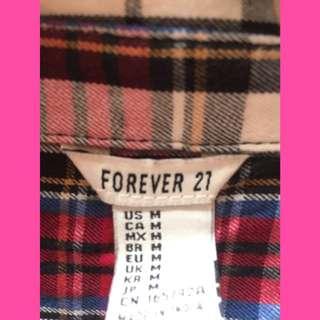 REPRICE!! Forever 21 - Kemeja